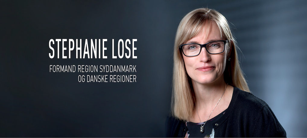 Stephanie Lose – Formand Region Syddanmark og Danske Regioner